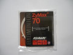 Badmintonový výplet Ashaway ZyMax70 - 10m, bílý