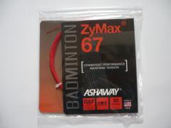 Badmintonový výplet Ashaway ZyMax 67 - 10m, červený