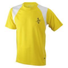 Triko pánské JN397 Yellow/White