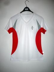 Triko dámské JN 390 White/Red